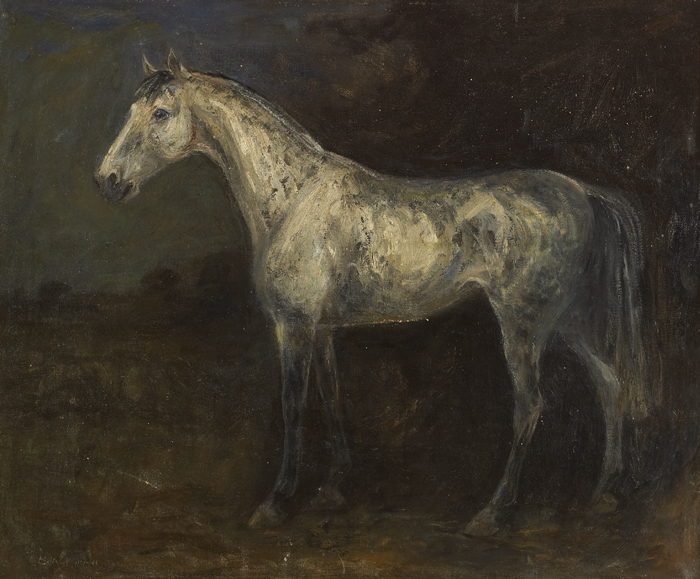 SILVER, c.1950s by Basil Blackshaw sold for �10,000 at Whyte's Auctions
