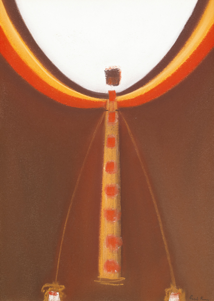 CIRCUS THEME, c.1966-1968 by Cecil King sold for �1,000 at Whyte's Auctions