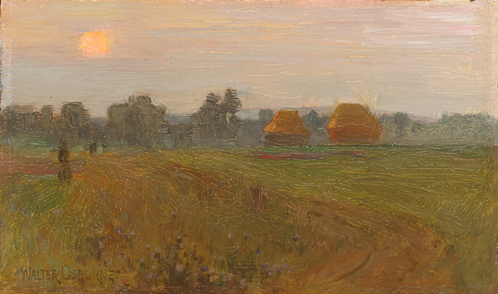 EVENING MISTS, c.1891 by Walter Frederick Osborne sold for �8,500 at Whyte's Auctions