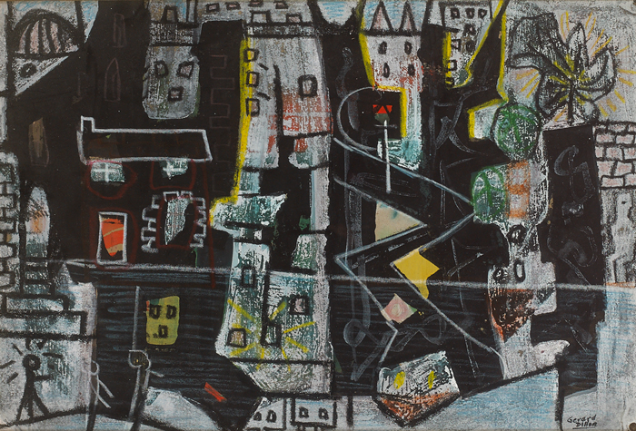 ANY OLD TOWN by Gerard Dillon (1916-1971) at Whyte's Auctions