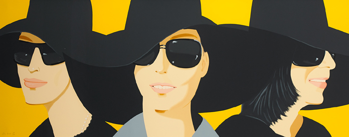 BLACK HAT IV, 2012 by Alex Katz sold for �8,000 at Whyte's Auctions
