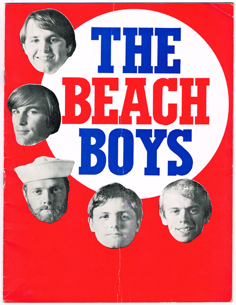 "The Beach Boys 1967 Smiley Smile"" Tour Dublin programme"" at Whyte's Auctions"