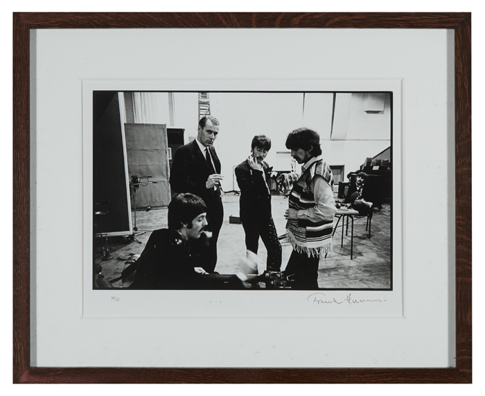 The Beatles. 1967 Photograph by Frank Herrman. at Whyte's Auctions