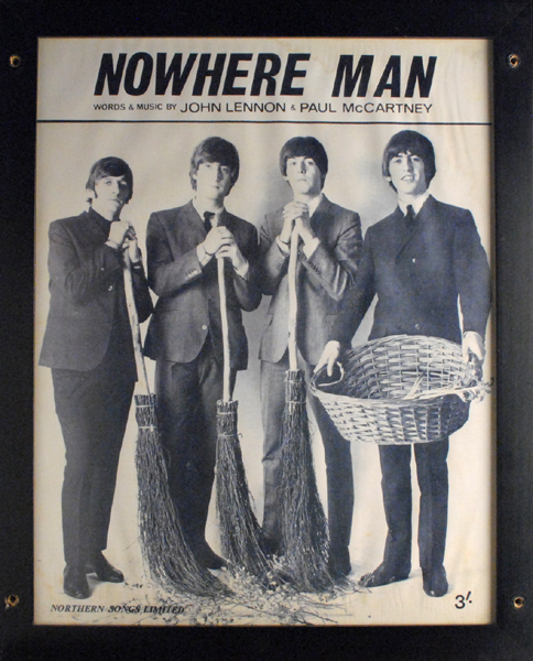 The Beatles. A collection of framed photographs, prints and ephemera. at Whyte's Auctions