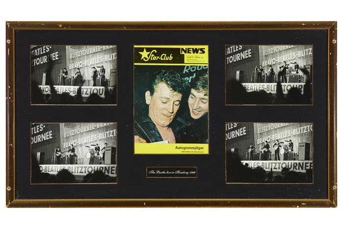 The Beatles. 1966 Hamburg concert photographs. at Whyte's Auctions