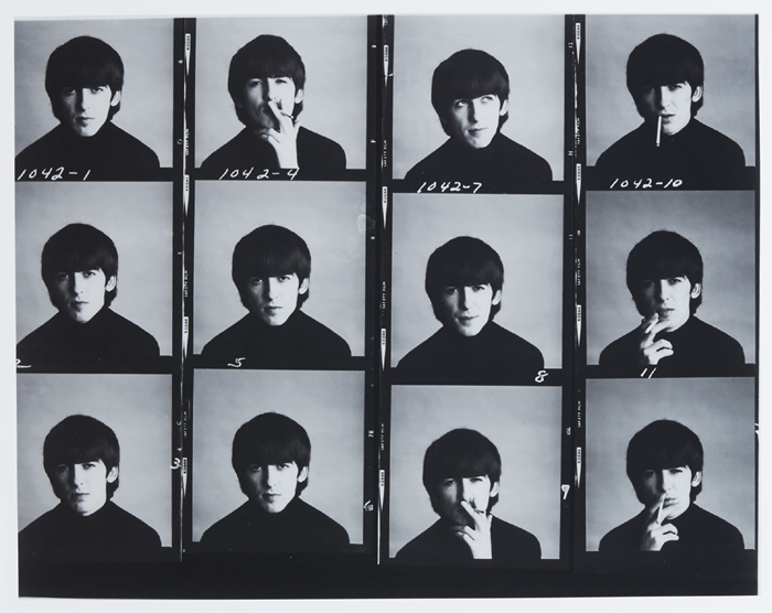 Ringo Starr and George Harrison photographs at Whyte's Auctions