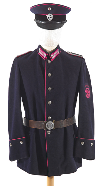 Third Reich Fire Police uniform at Whyte's Auctions ...