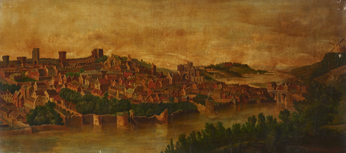 Thomas Markey (1885-1967) VIEW OF DROGHEDA, 1679 at Whyte's Auctions