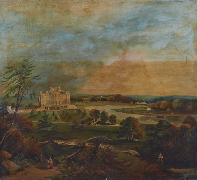 Thomas Markey (1885-1967) SLANE CASTLE at Whyte's Auctions