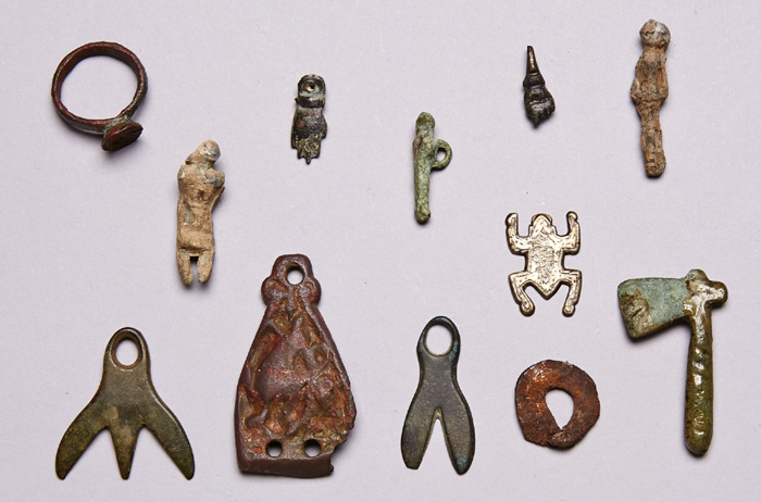 100BC to 900AD collection of small Celtic to Viking period artefacts at Whyte's Auctions