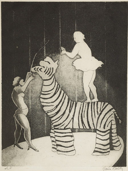 CIRCUS AND WORKS BY FOUR OTHER ARTISTS (SET OF 5) by John Kelly sold for �340 at Whyte's Auctions