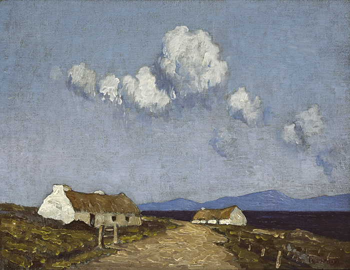 LANDSCAPE, CONNEMARA, 1940s by Paul Henry sold for �68,000 at Whyte's Auctions