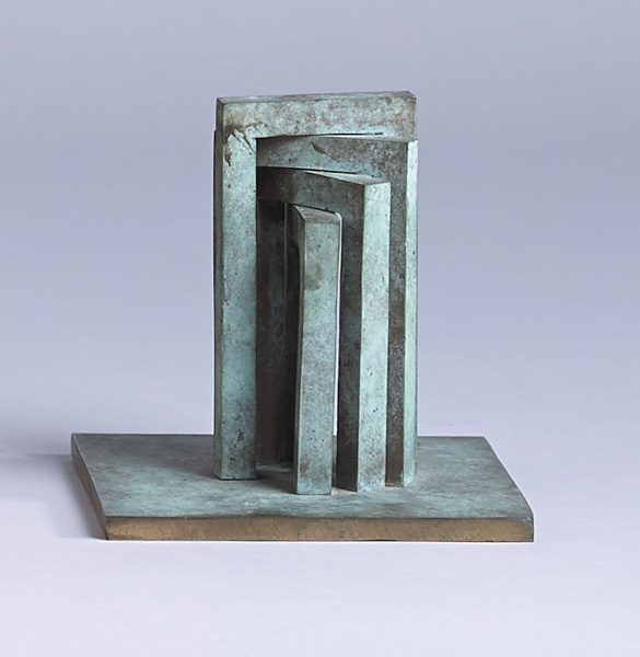 MAQUETTE FOR KILKENNY X, 1986 by Brian King sold for �1,250 at Whyte's Auctions
