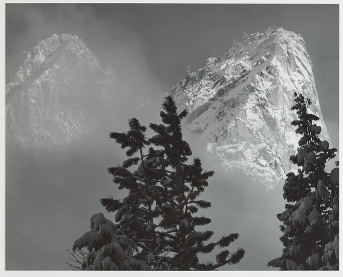 SET OF SIX YOSEMITE NATIONAL PARK SPECIAL EDITION PHOTOGRAPHS, 1958 by Ansel Adams sold for �2,600 at Whyte's Auctions