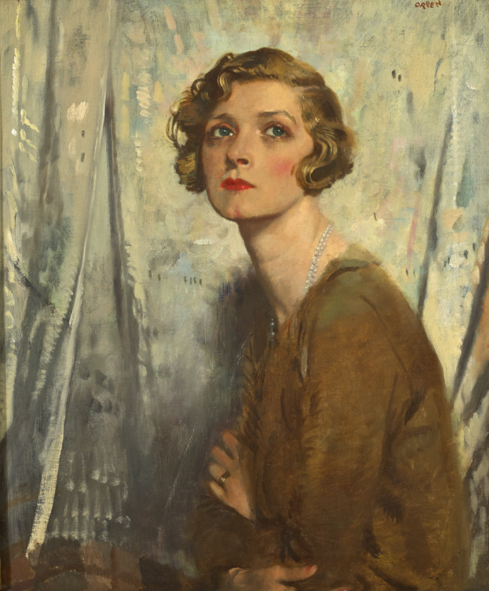 GLADYS COOPER by Sir William Orpen RA RI RHA (1878-1931) at Whyte's Auctions