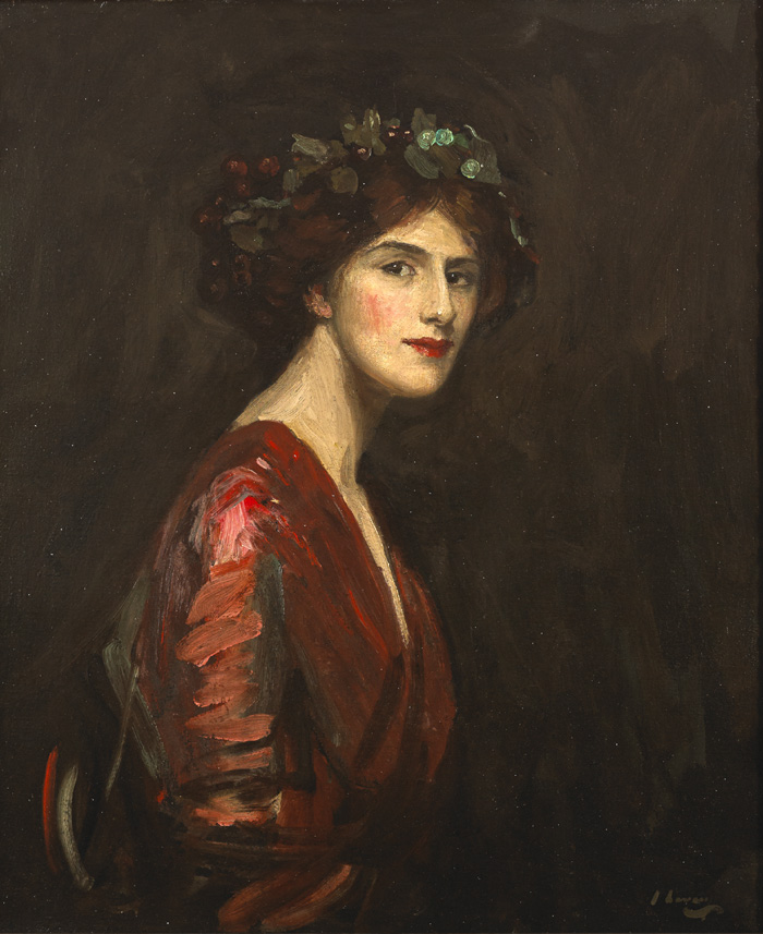 A BACCHANTE, 1910 by Sir John Lavery sold for �135,000 at Whyte's Auctions