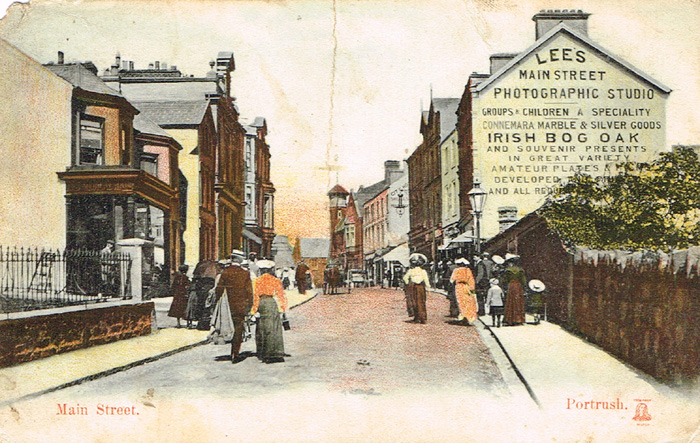 Co. Antrim postcards (46) at Whyte's Auctions