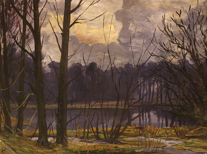 TREES BY WATER by Hans Iten sold for �950 at Whyte's Auctions