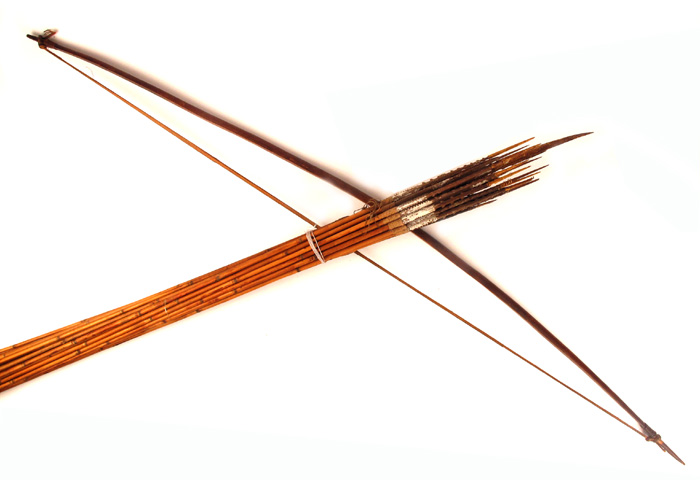 hunting bow and arrows dani tribe west papua indonesia at whyte s