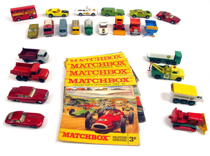 Lesney Matchbox 1-75 scale toys and catalogues at Whyte's