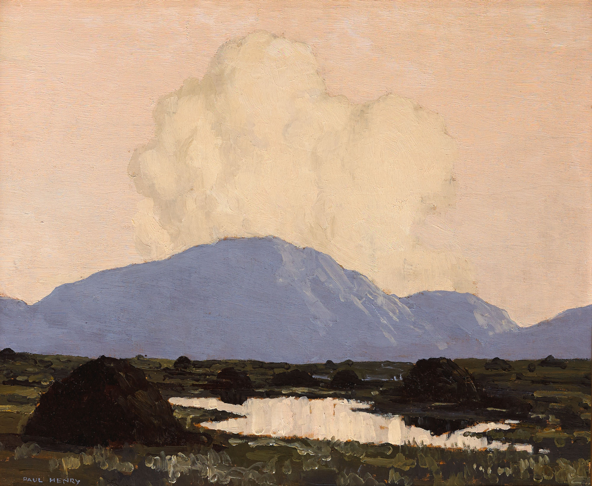 CONNEMARA, c.1929-1930 by Paul Henry sold for €66,000 at Whyte's Auctions