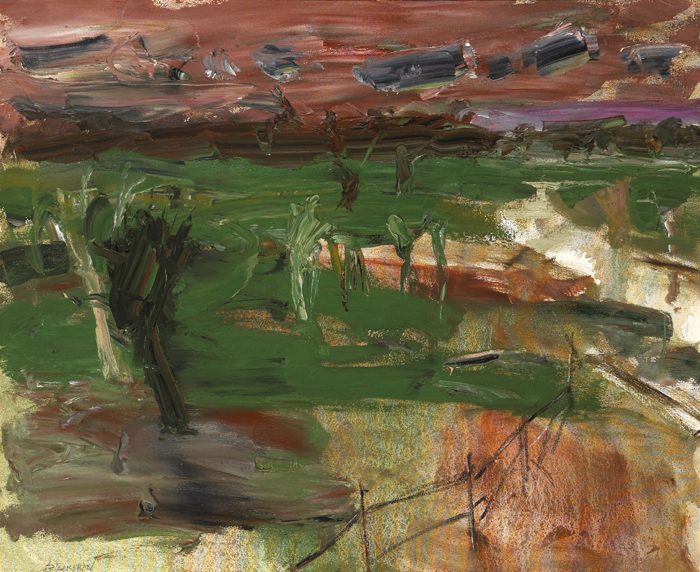 SIX MILE VALLEY by Basil Blackshaw sold for �13,000 at Whyte's Auctions