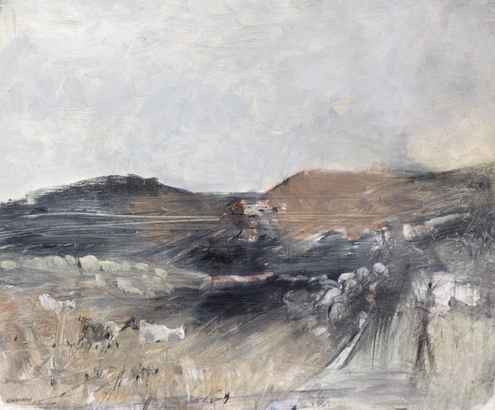 THREE GOATS by Basil Blackshaw sold for �14,000 at Whyte's Auctions