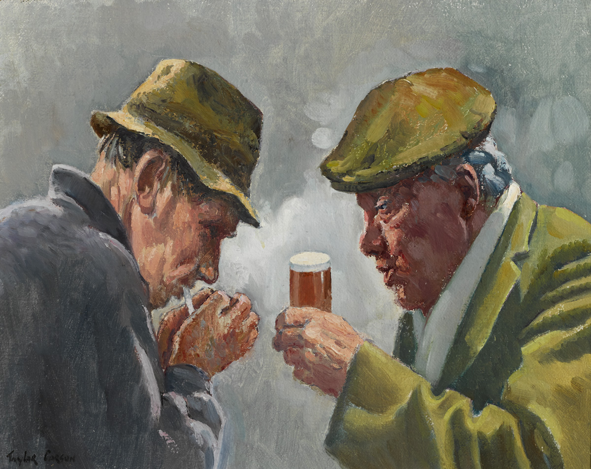 HERE'S TO YOU MATT, 1986 by Robert Taylor Carson HRUA (1919-2008) at Whyte's Auctions