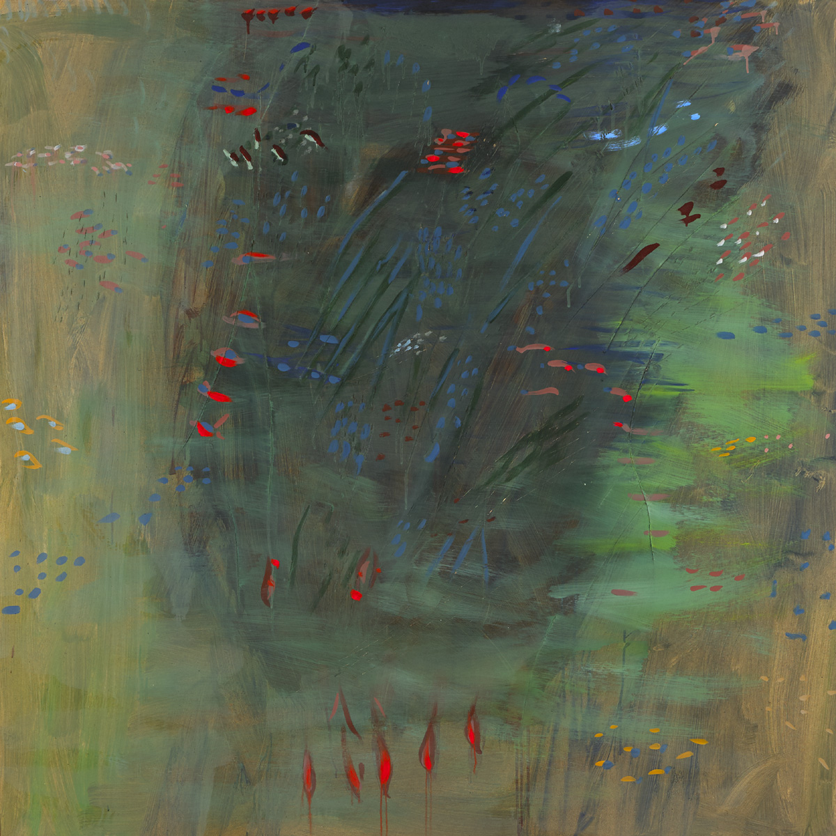 POND REVERIE I, 1994 by Tony O'Malley sold for �22,000 at Whyte's Auctions