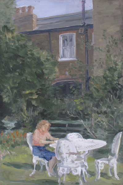 STUDY FOR THE 'LETTER EVENING', 1989 by John Lessore (English, b.1939) at Whyte's Auctions