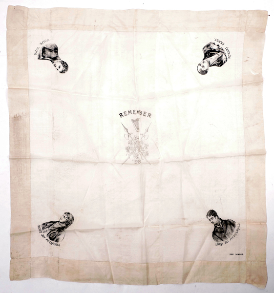 1798-1898 Centenary silk handkerchief at Whyte's Auctions