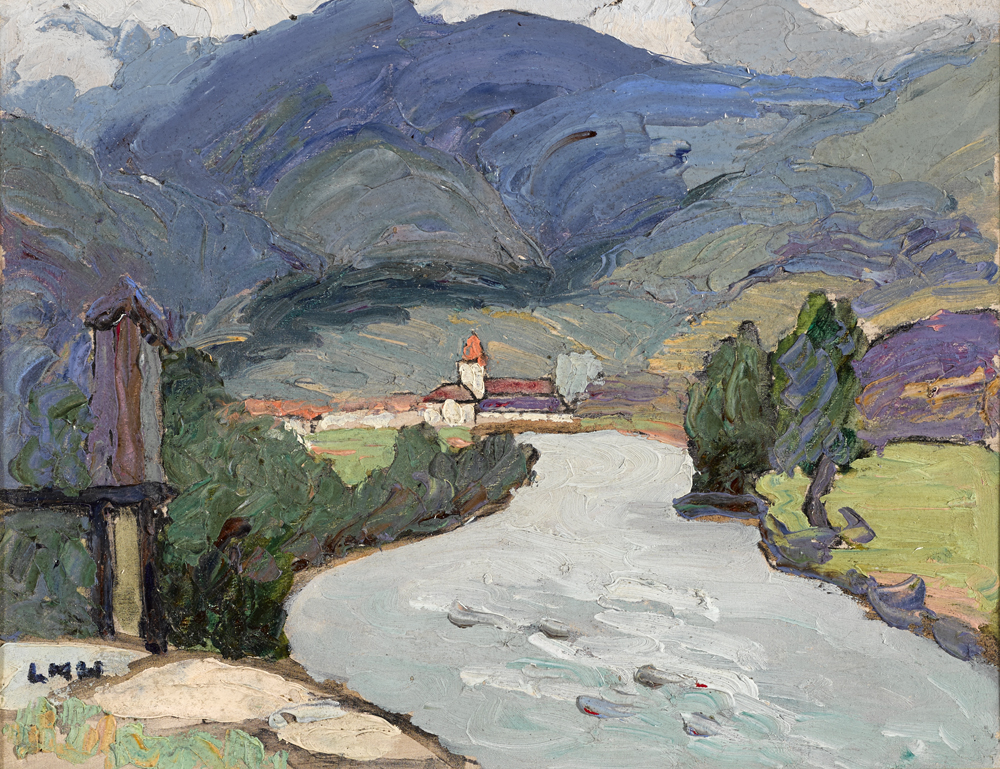 NEAR FIESOLE, FLORENCE by Letitia Marion Hamilton RHA (1878-1964) at Whyte's Auctions