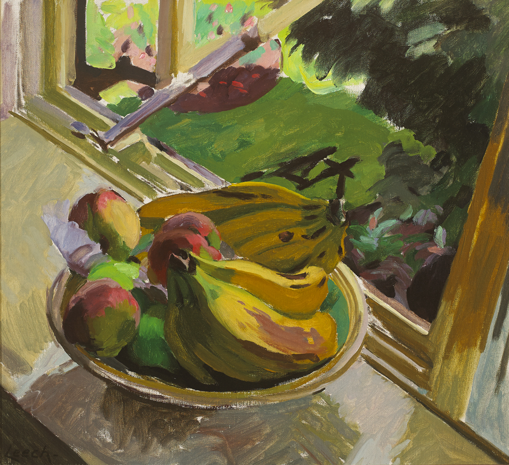 BOWL OF FRUIT c.1944 by William John Leech RHA ROI (1881-1968) at Whyte's Auctions