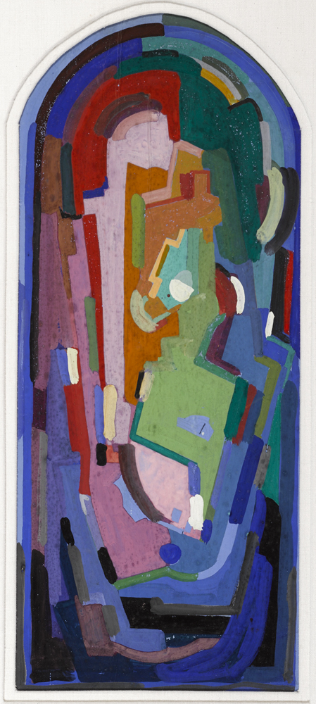 ABSTRACT COMPOSITION by Mainie Jellett sold for �4,400 at Whyte's Auctions