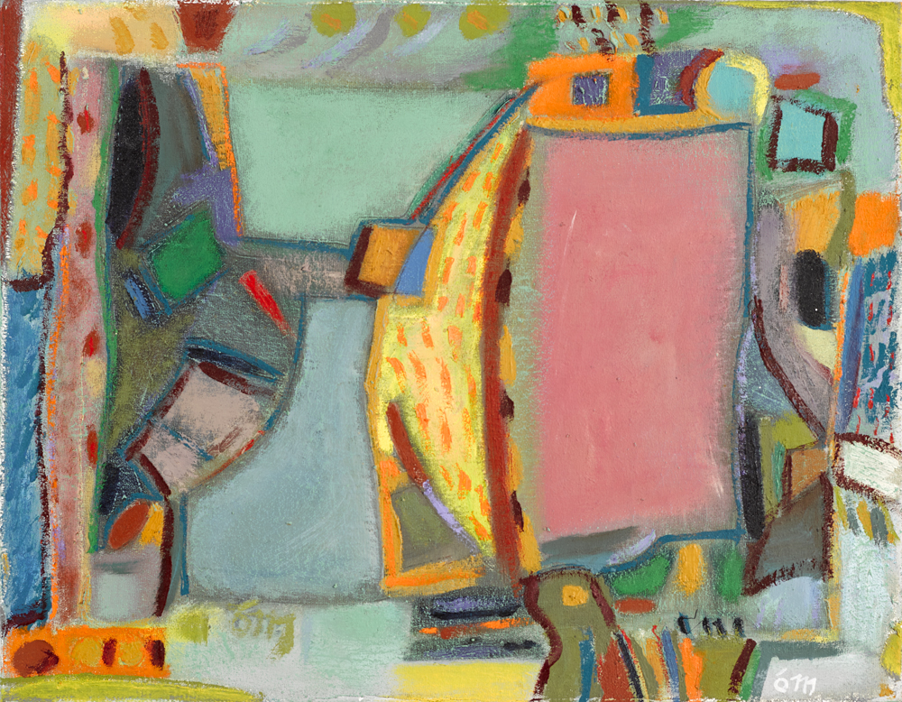 PINK NASSAU, 1977 by Tony O'Malley HRHA (1913-2003) at Whyte's Auctions