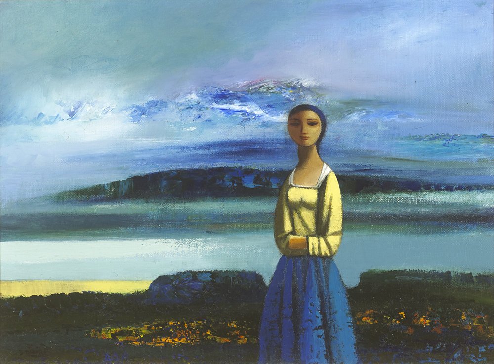 FIGURE IN A LANDSCAPE by Daniel O'Neill (1920-1974) (1920-1974) at Whyte's Auctions