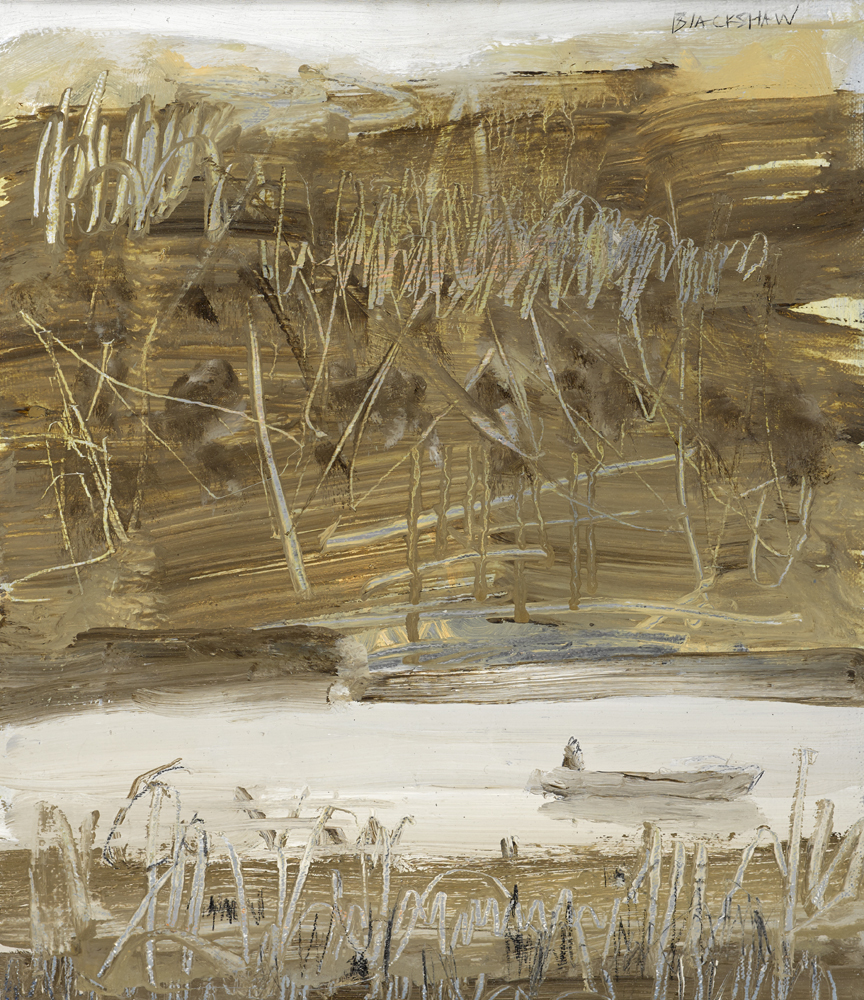 LEITRIM LAKE by Basil Blackshaw sold for �9,500 at Whyte's Auctions
