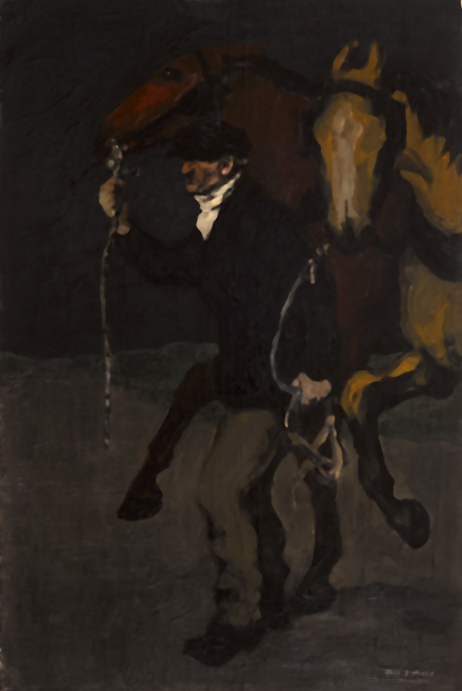 FRESH HORSES, c. 1914 by Jack Butler Yeats sold for €42,000 at Whyte's Auctions