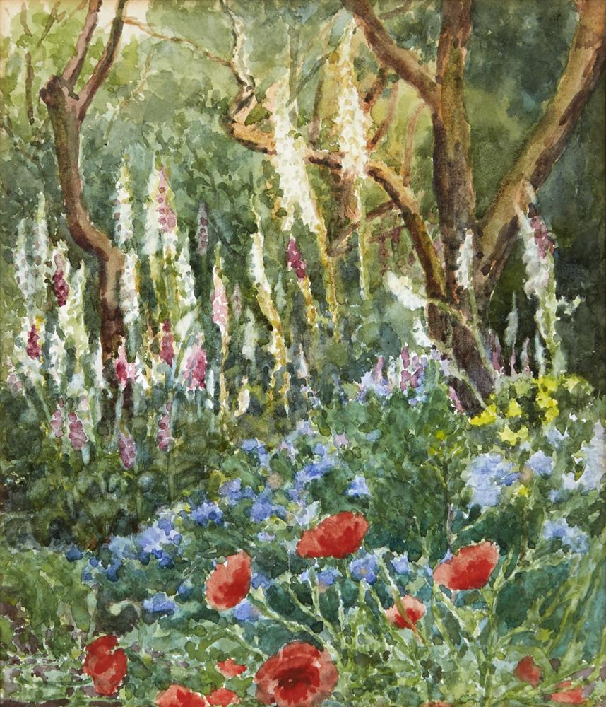 WOODLAND FLOWERS by Mildred Anne Butler RWS (1858-1941) RWS (1858-