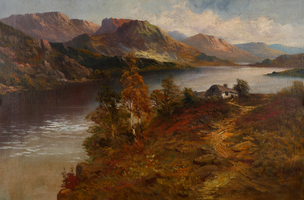 THE MIDDLE LAKE, KILLARNEY and THE UPPER LAKE, KILLARNEY (A PAIR) by Montgomery Ansell sold for �1,100 at Whyte's Auctions