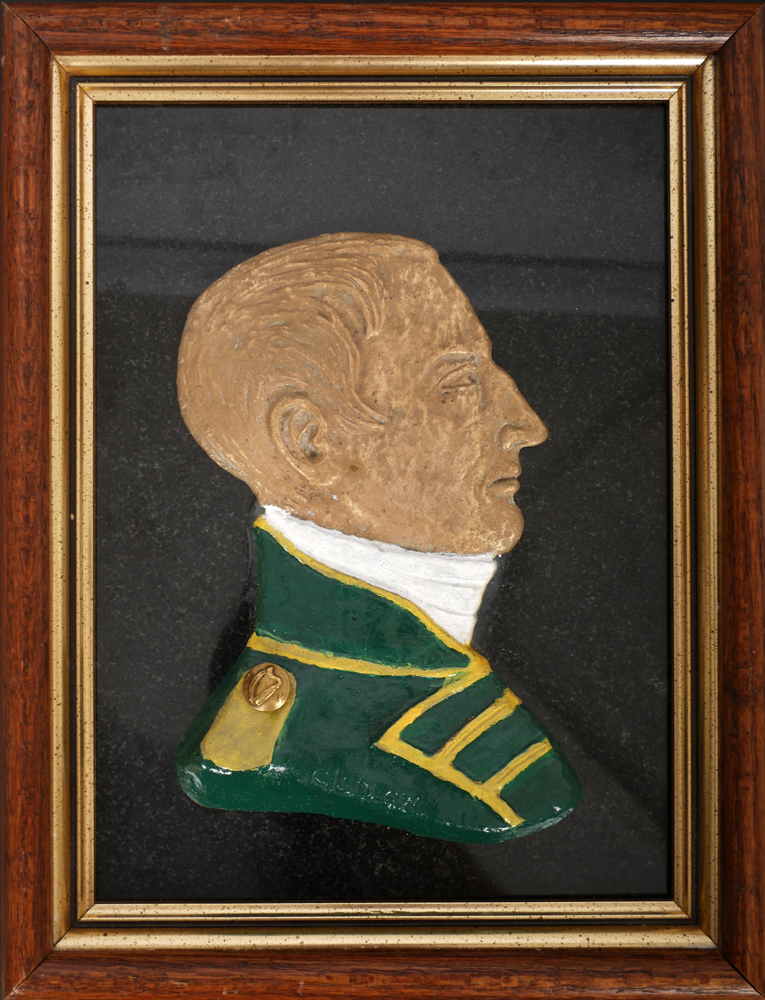 Robert Emmet relief bust by Charles Ludlow. at Whyte's Auctions