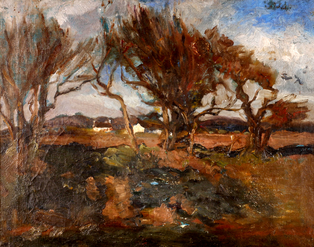 LANDSCAPE by Estella Frances Solomons HRHA (1882-1968) at Whyte's Auctions