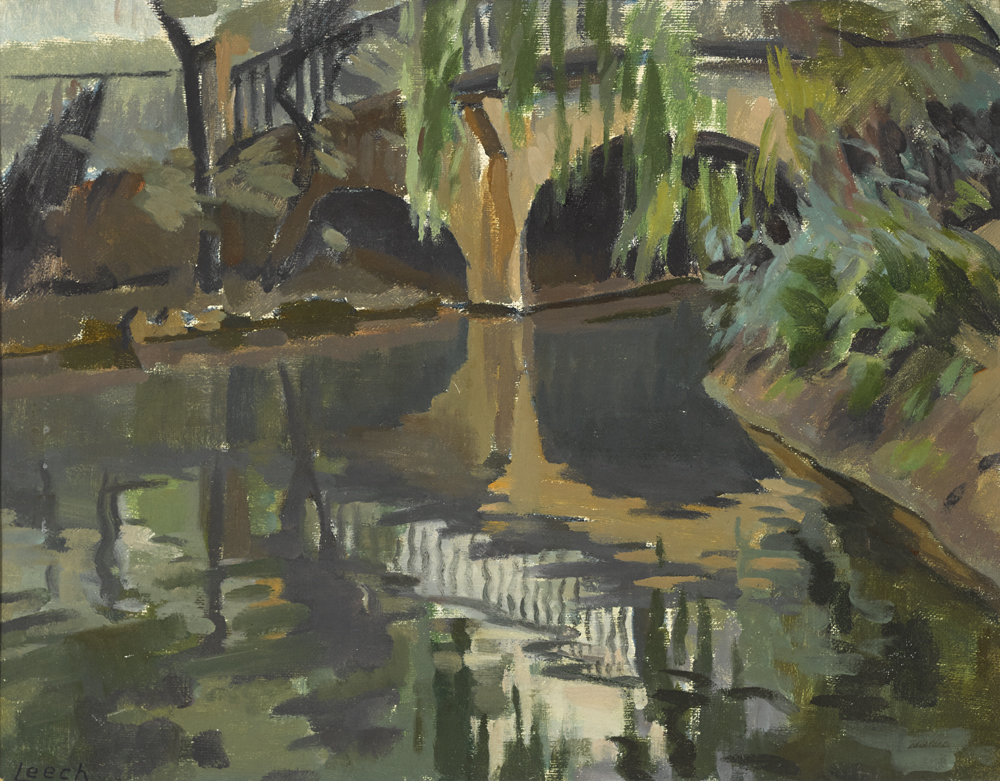GREY BRIDGE, REGENT'S PARK, LONDON by William John Leech RHA ROI (1881-1968) at Whyte's Auctions
