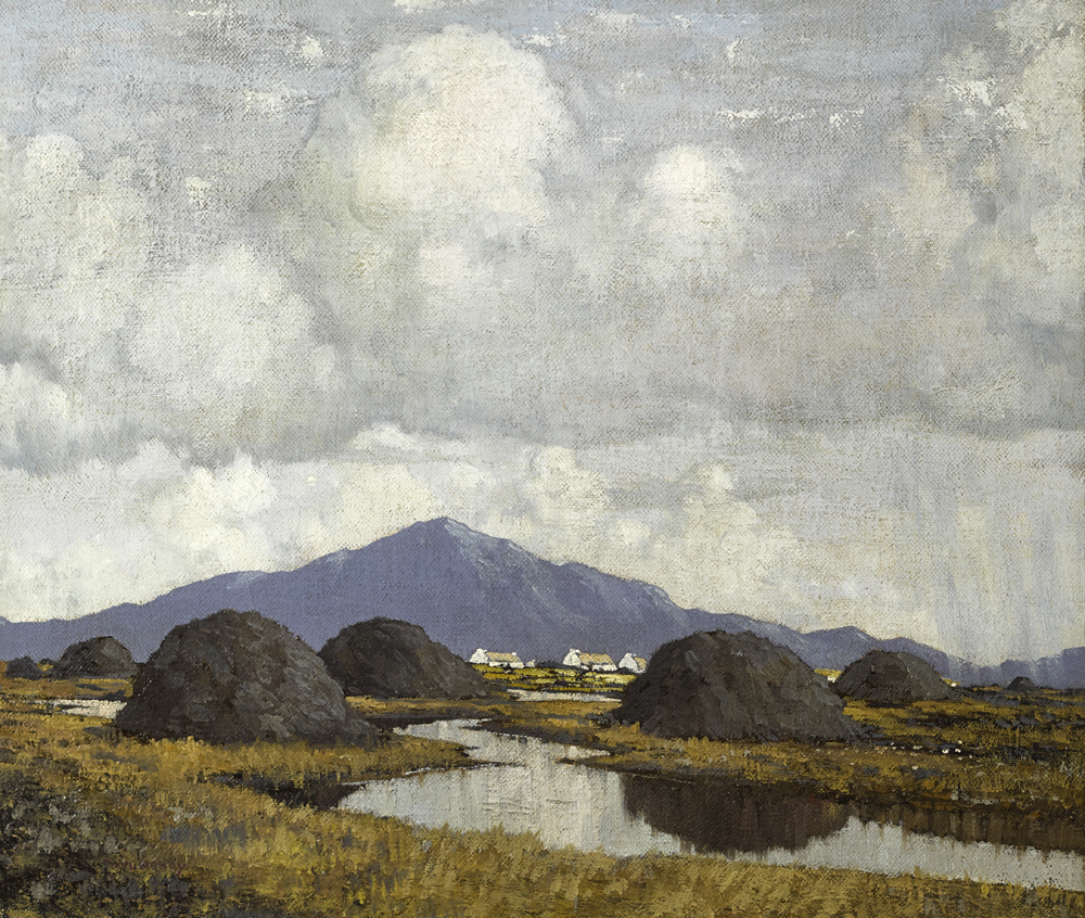 AN IRISH BOG, c.1938 by Paul Henry sold for €130,000 at Whyte's Auctions