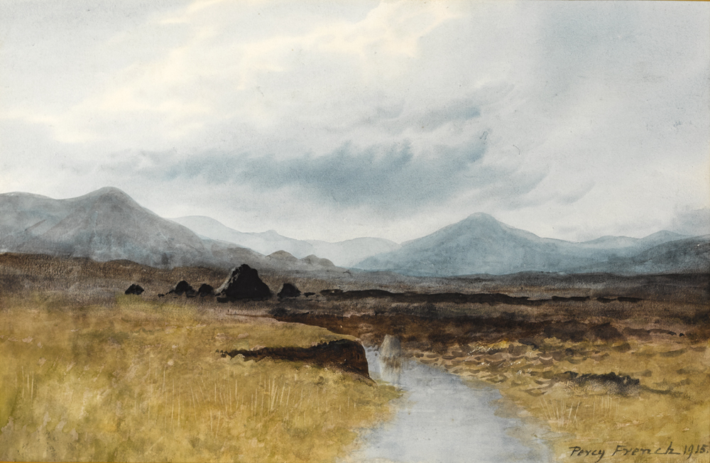 A NORTH ANTRIM BOG, 1915 by William Percy French (1854-1920) at Whyte's Auctions