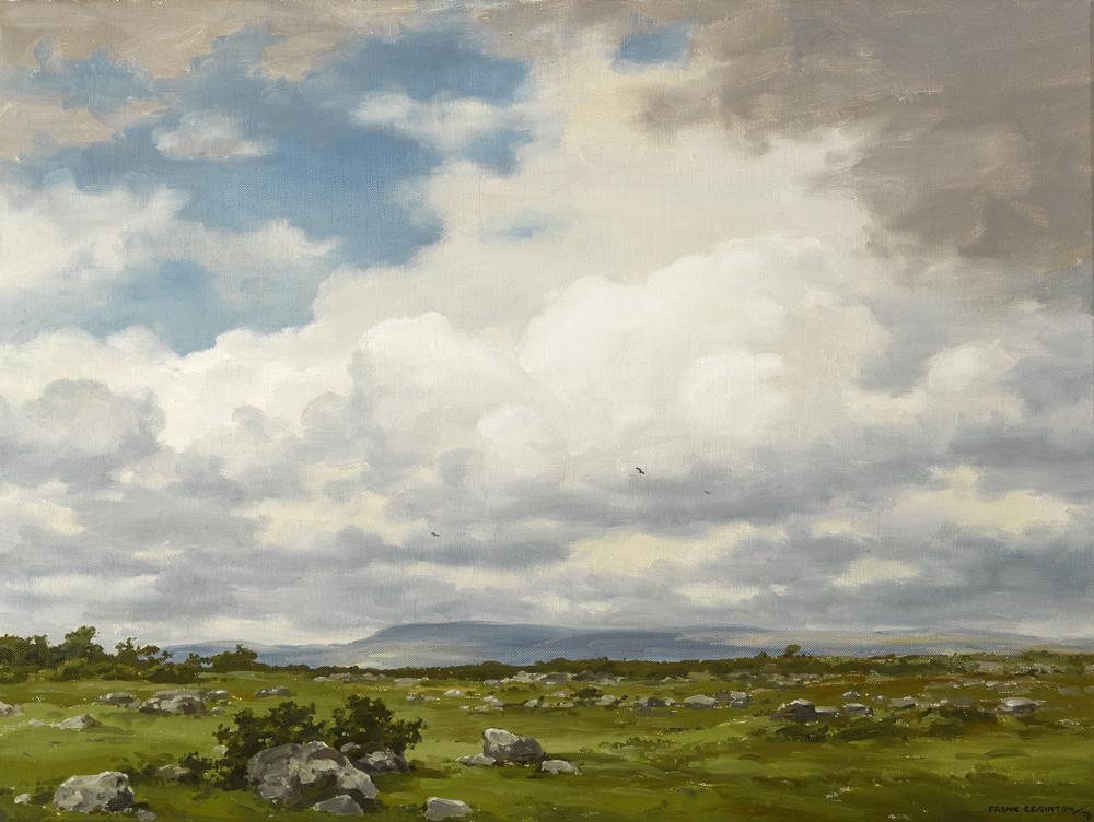 NEAR CLONBUR, COUNTY MAYO by Frank Egginton RCA (1908-1990) at Whyte's Auctions