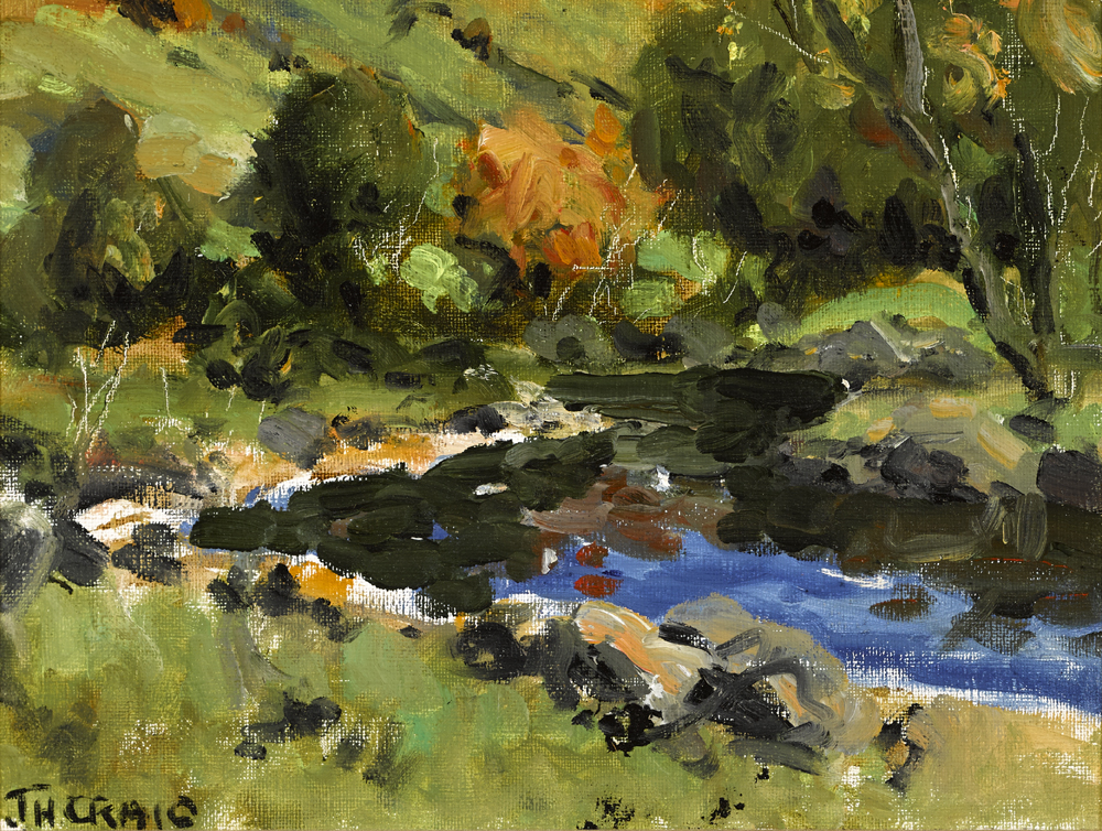 RIVER SCENE by James Humbert Craig RHA RUA (1877-1944) at Whyte's Auctions