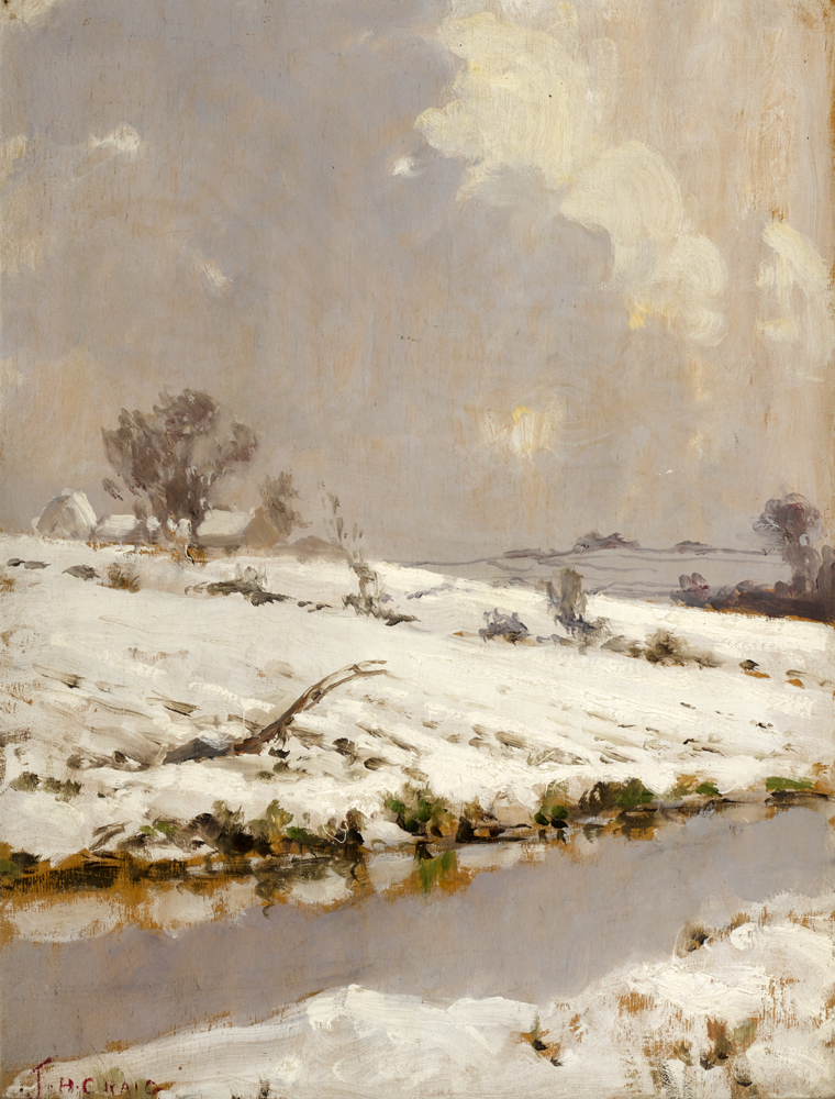 WINTER IN ANTRIM by James Humbert Craig RHA RUA (1877-1944) at Whyte's Auctions
