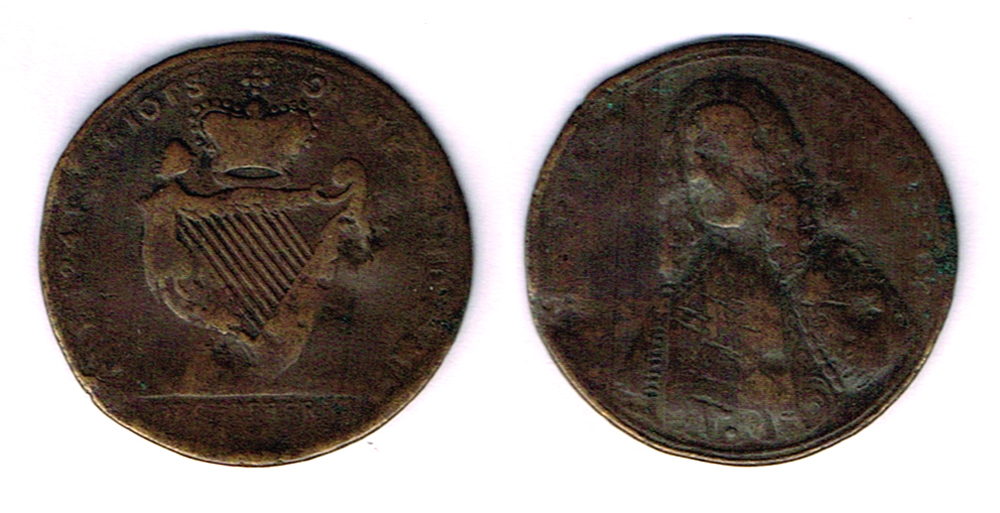 1753 Medal: The Patriots of Ireland The Speaker and Liberty. at Whyte's Auctions