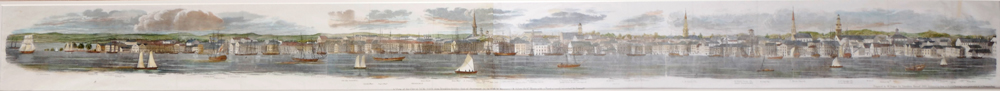 A View of the City of New York in 1798. at Whyte's Auctions